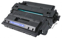 HEWLETT PACKARD CE255X Black Laser Toner Cartridge