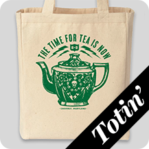 The Time for Tea is Now Tote