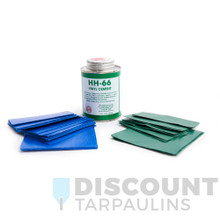 Tarp Repair Kit  - Glue & PVC Swatches