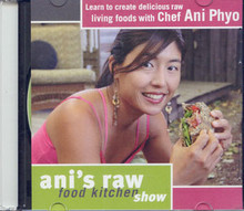Ani Phyo is an executive chef overseeing everything created by Smart Money Foods, the premier resource for vegan, raw, and living cuisine that's full of flavor, design, and creativity and packed full of fresh local organics.