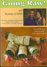 "Ronnie & Minh are husband and wife raw foodists who produce some of the most interesting and ""unbelievably tasty raw and living foods you may ever encounter""."