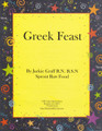 Jackie Graff's Raw Recipe Booklet - Greek Feast