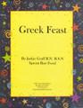 Jackie Graff's Raw Recipe Booklet - Greek Feast