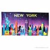 New York City Skyline Beach Towel