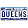 Queens License Plate