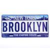 Brooklyn License Plate