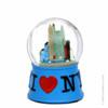 I Love NY Snow Globe Blue