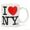 White Classic I Love NY Mug