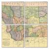 Montana Map Coaster Set of 4