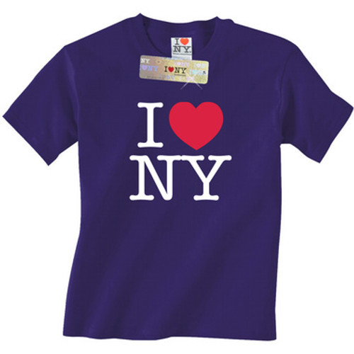 Purple I Love NY T-Shirt