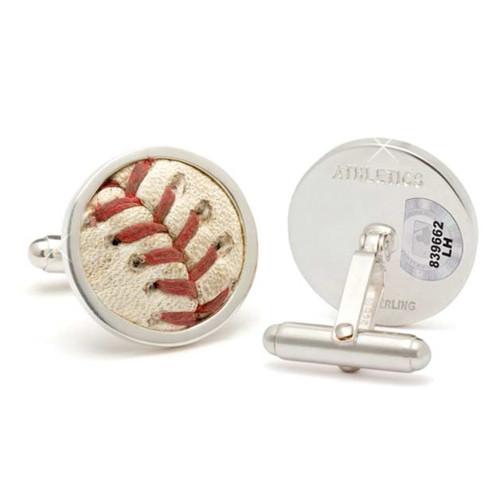NY Mets Baseball Cufflinks