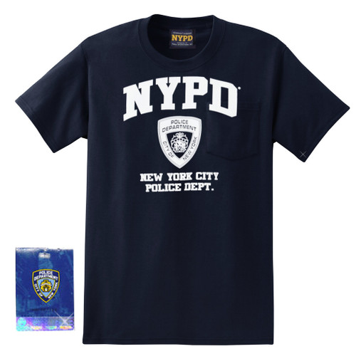 Navy NYPD T-Shirt