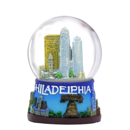 Philadelphia Snow Globes