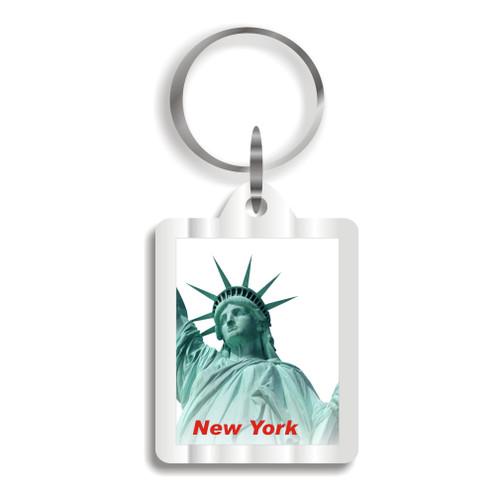 Statue of Liberty Plastic Key Chain