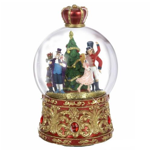 Nutcracker Suite Musical Snow Globe