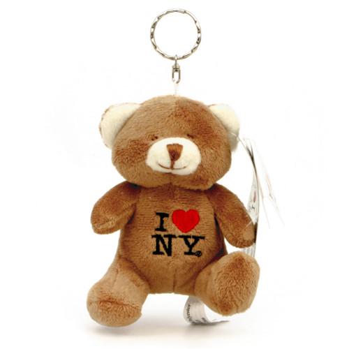 I Love NY Key Chain Teddy Bear