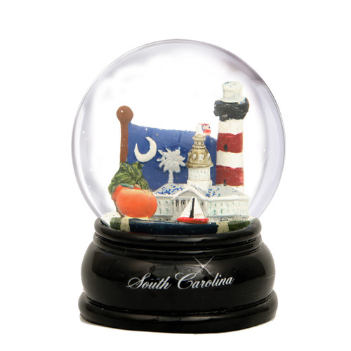 65mm South Carolina Snow Globe