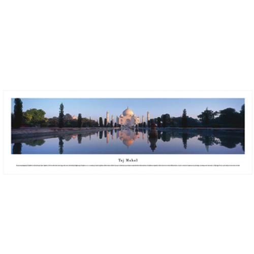 Panoramic Taj Mahal Poster