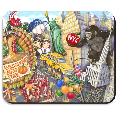 Thanksgiving Day Parade Mousepad