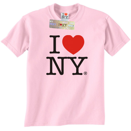 Light Pink I Love NY T-Shirt