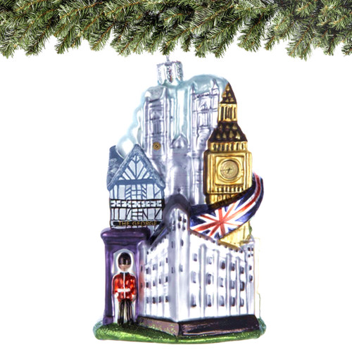 London Souvenirs, Statues, Snow Globes and Christmas Ornaments