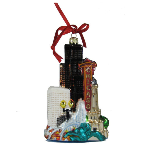Chicago Christmas Ornaments, Gifts & Souvenirs