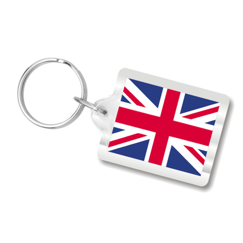 Union Jack Key Chain