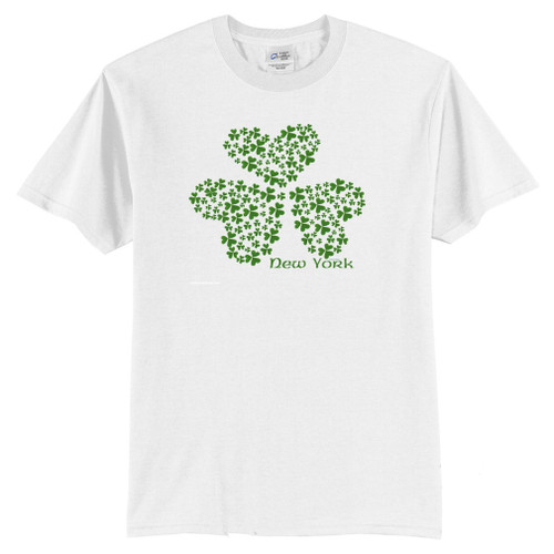 Shamrock T-Shirt with a hidden 4 leaf clover