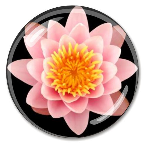 Lotus Crystal Paperweight