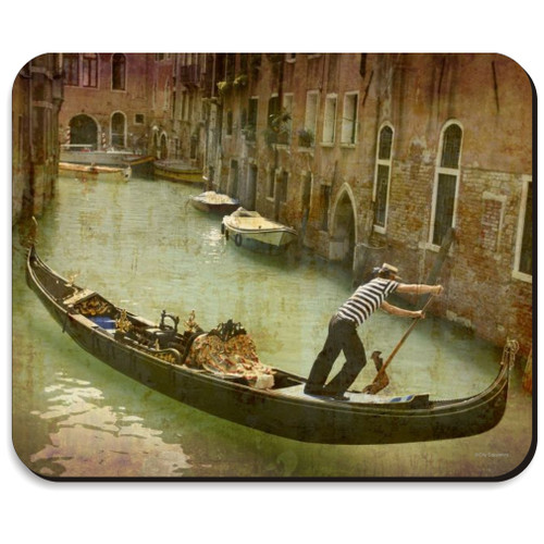 venice mousepad with gondola