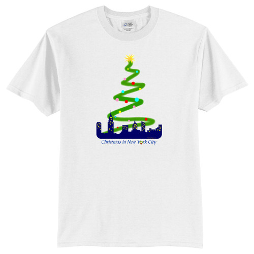 Christmas in New York City Youth T-Shirt