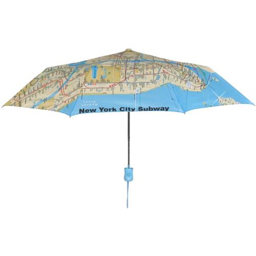 New York City Subway Map Umbrella