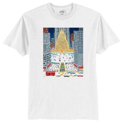 Rockefeller Center Art Scene Apparel