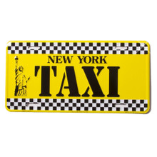 new york taxi license plate. Black Bedroom Furniture Sets. Home Design Ideas