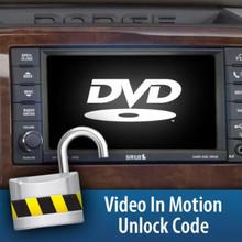 2010 - 2012 Dodge 6.7L Video in motion unlock code