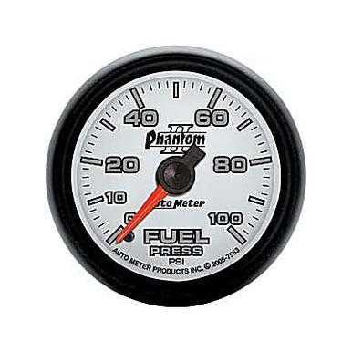 Auto Meter Phantom II Series Fuel Pressure Gauge