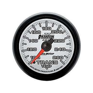 Auto Meter Phantom II Series Transmission Temp Gauge