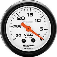 Auto Meter 5784 Phantom Series Vacuum Gauge