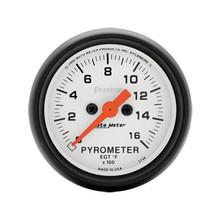 Auto Meter Phantom Series Pyrometer Gauge