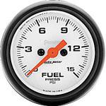 Auto Meter Phantom Fuel Pressure Gauge