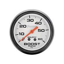 Auto Meter Phantom Series Boost Gauge