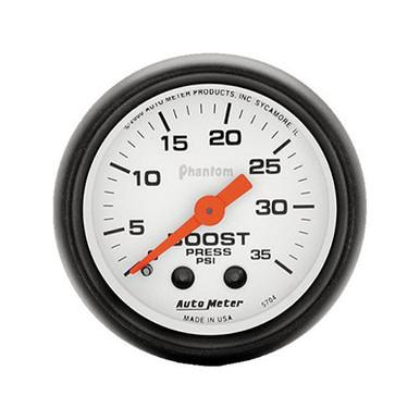 Auto Meter Phantom Series Boost Gauge