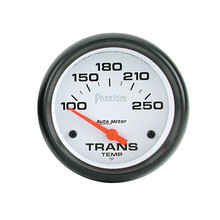 Auto Meter Phantom Series Transmission Temp Gauge