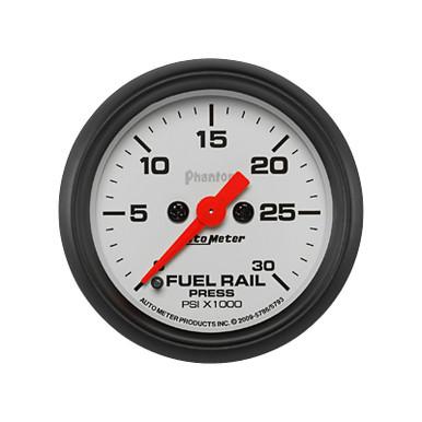 Auto Meter Phantom Diesel Fuel Rail Pressure Gauge