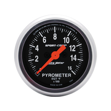 Auto Meter Sport-Comp Pyrometer Gauge