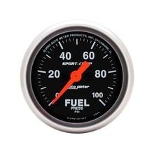 Auto Meter Sport-Comp Fuel Pressure Gauge