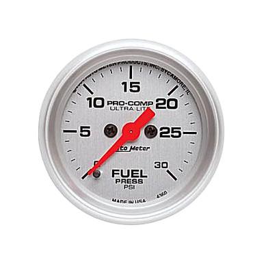 Auto Meter Ultra Lite Fuel Pressure Gauge