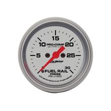 Auto Meter Ultra-Lite Diesel Fuel Rail Pressure Gauge