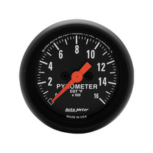 Auto Meter Z-Series Pyrometer Gauge