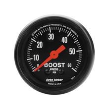 Auto Meter Z-Series Boost Gauge